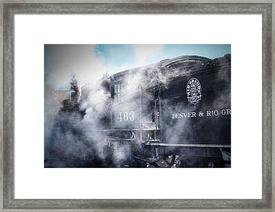 Train Engine 463 Framed Print