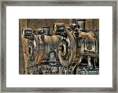 Train - Engine - Brothers Forever Framed Print by Mike Savad