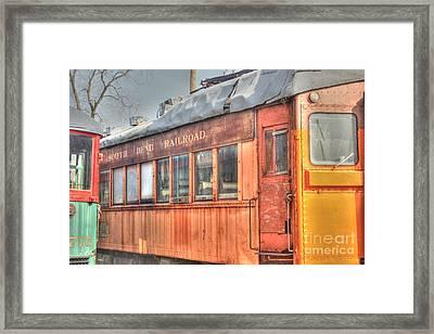 Train Series 5 Framed Print by David Bearden