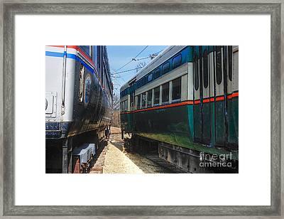 Train Series 6 Framed Print by David Bearden