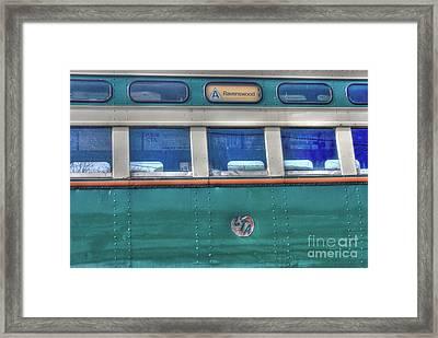 Train Series 8 Framed Print by David Bearden