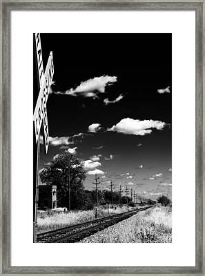 Train Station Framed Print by Off The Beaten Path Photography - Andrew Alexander