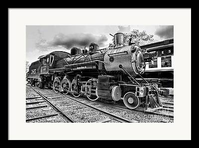 Train Rides Framed Prints