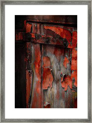 Framed Print featuring the photograph Train To Nowhere by Jeffrey Jensen