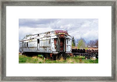 Train Tootoot Framed Print