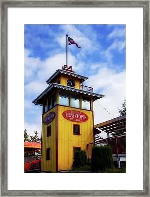 Train Town 1 Framed Print
