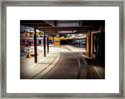 Train Town 2 Framed Print