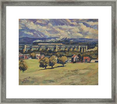 Train Vapeur Moresnet Framed Print