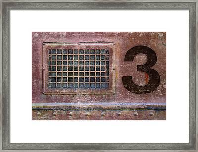 Train Vent 3 Framed Print
