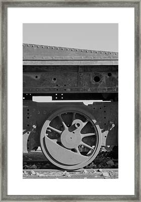 Train Wheel Framed Print by Marcus Best
