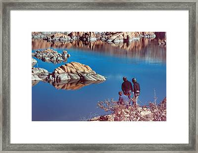 Training Day Framed Print by Thomas Todd