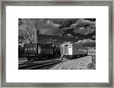 Trains Framed Print by James Barber
