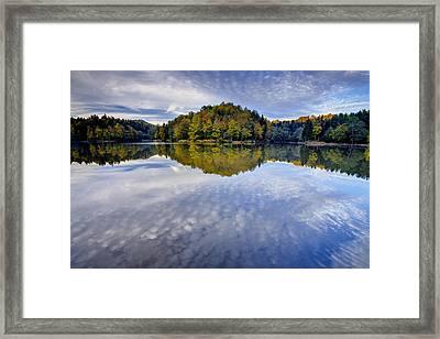 Trakoscan Lake In Autumn Framed Print