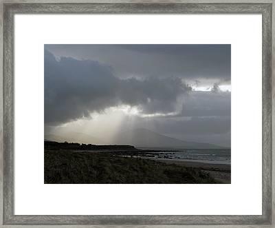 Tralee Bay Ireland Framed Print by Richard Singleton