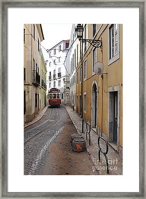 Tram # 28 Framed Print by Floyd Menezes