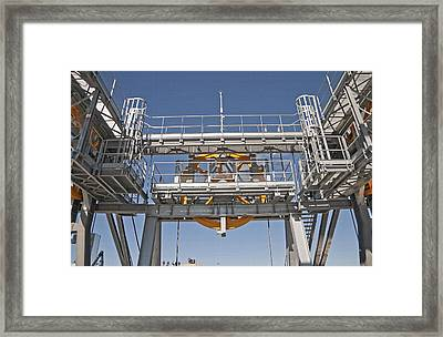 Tram Mechanics - Jackson Hole Wyoming Framed Print by Steve Ohlsen