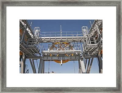 Tram Mechanics - Jackson Hole Wyoming Framed Print by Steve Ohlsen