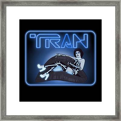 Tran Framed Print