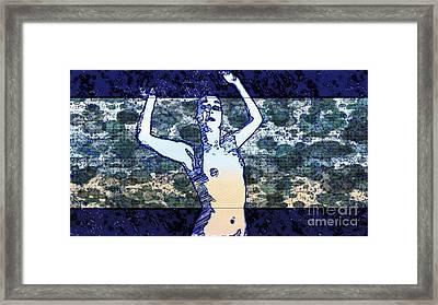 Trance Girl No. 2 By Mary Bassett Framed Print
