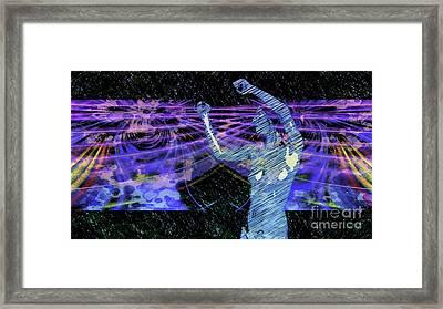 Trance Girl No. 4 By Mary Bassett Framed Print