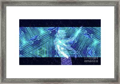 Trance Girl No. 5 By Mary Bassett Framed Print