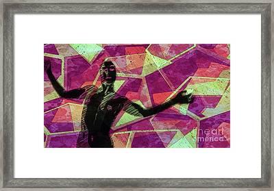 Trance Girl No. 6 By Mary Bassett Framed Print