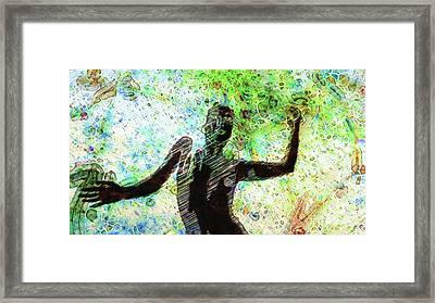 Trance Girl No. 7 By Mary Bassett Framed Print