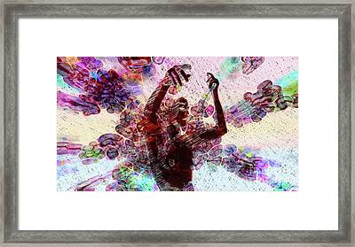 Trance Girl No. 8 By Mary Bassett Framed Print