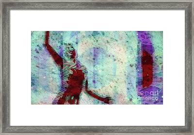 Trance Girl No. 9 By Mary Bassett Framed Print