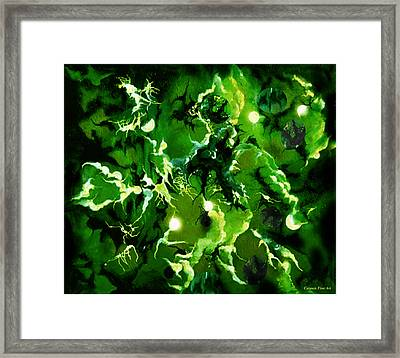 Trancendental Memories Of Soft Song Framed Print