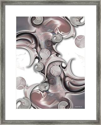 Trancendental Soul Of Innocence Framed Print