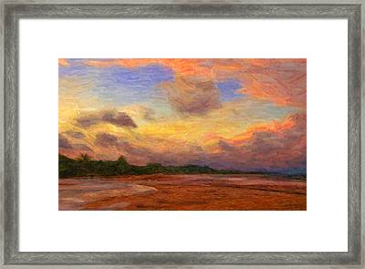 Trancoso 1 Framed Print by Caito Junqueira