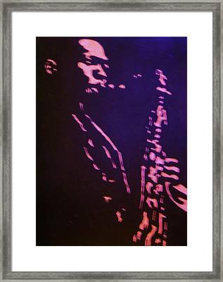 Trane Framed Print by Gayland Morris