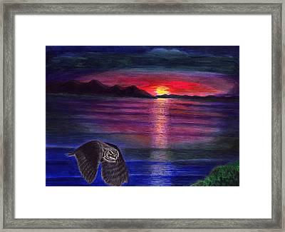 Tranquality-inner Peace 3 Framed Print by Zong Yi