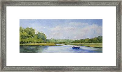 Tranquil Afternoon Framed Print by Vikki Bouffard