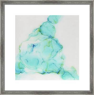 Tranquil And Soft Sky Framed Print