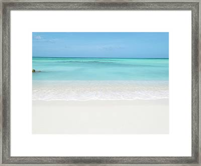 Tranquil Beach Framed Print by William Andrew
