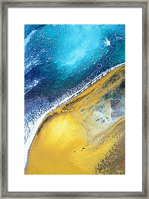 Tranquil Beaches Framed Print