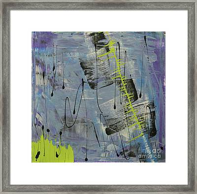 Framed Print featuring the painting Tranquil Dream II by Cathy Beharriell