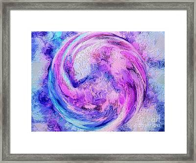 Tranquil Energy Framed Print
