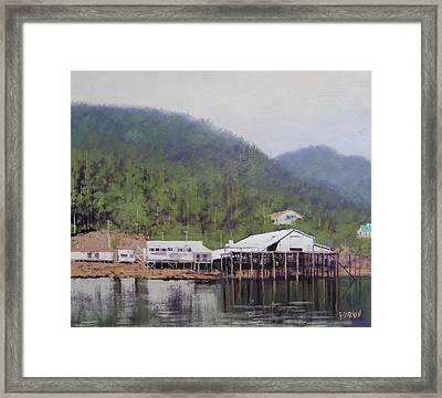 Tranquil Lake Canada Framed Print by Graham Gercken