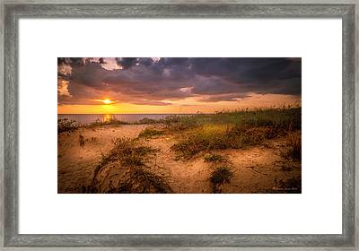 Tranquil Moment Framed Print by Marvin Spates
