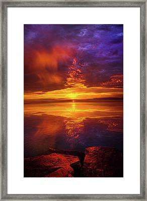 Tranquil Oasis Framed Print by Phil Koch
