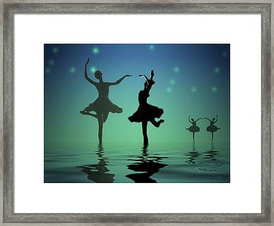 Tranquil Persuasion Framed Print by Joyce Dickens
