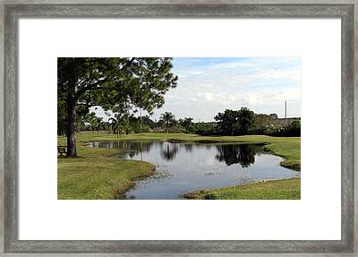 Framed Print featuring the photograph Tranquil Pool by Frederic Kohli