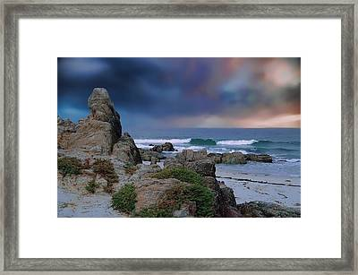 Framed Print featuring the photograph Tranquil Sea by Renee Hardison