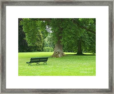 Tranquil Space Framed Print