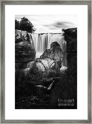 Tranquil Spaces 2 Framed Print by Bob Christopher