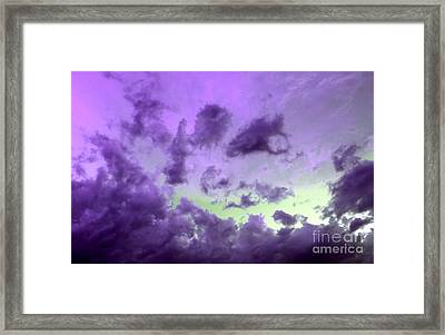 Tranquil Storm Framed Print by Krissy Katsimbras