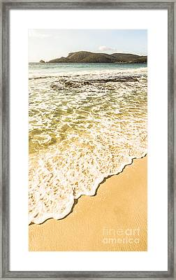 Tranquil Tide Framed Print by Jorgo Photography - Wall Art Gallery